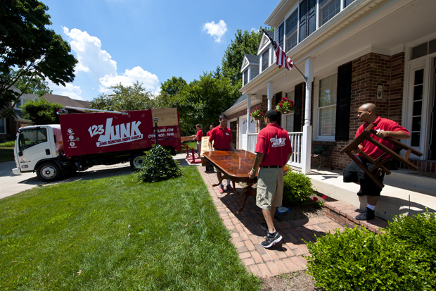 haul away your junk safely in Gaithersburg MD